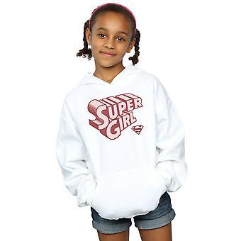 DC Comics Girls Supergirl Retro Logo Hoodie