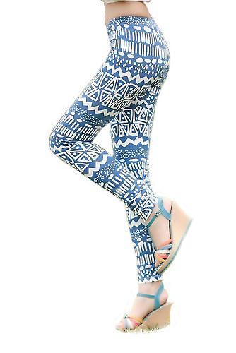 Waooh - Fashion - Legging long pattern old totem