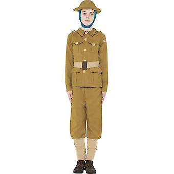 Horrible Histories WWI Boy Costume