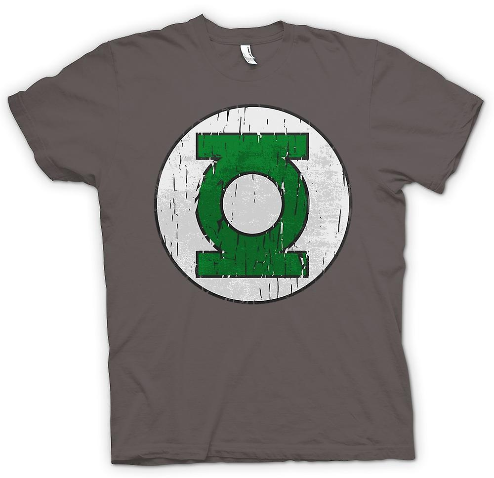 Heren T-shirt - Green Lantern Logo - komische held