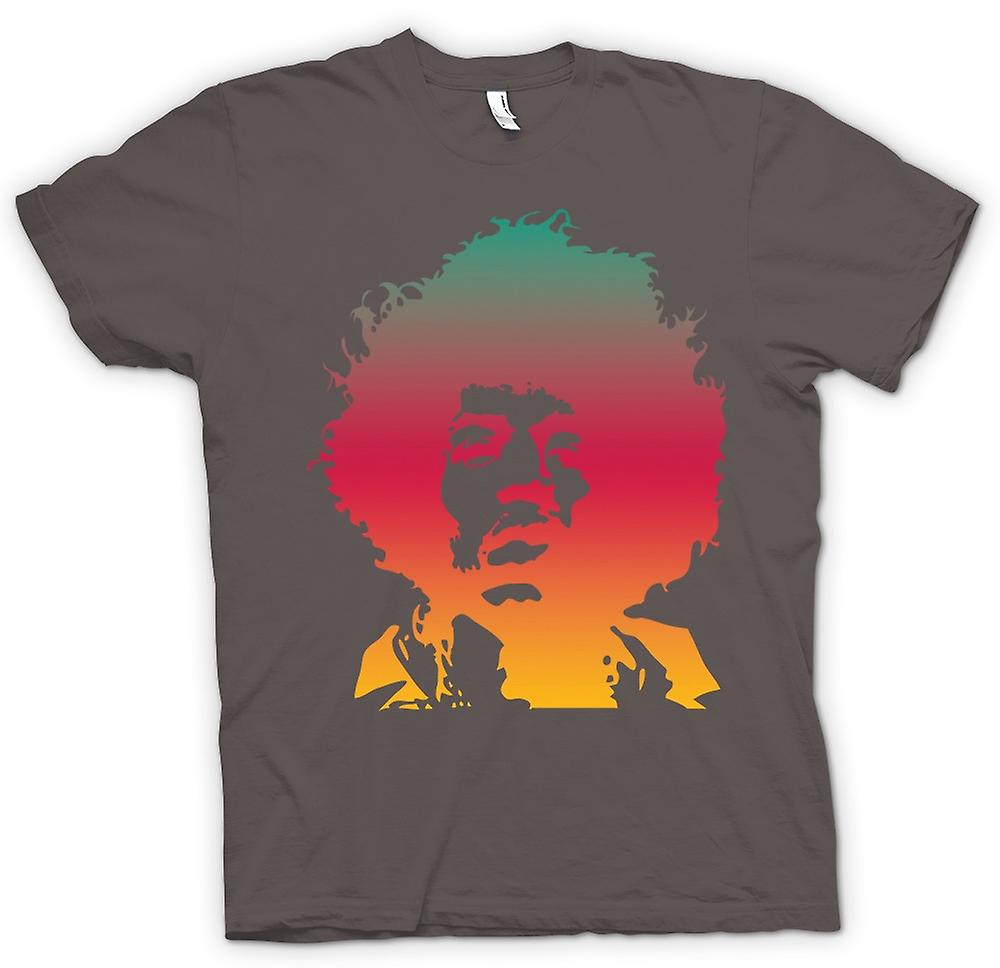 Womens T-shirt - Jimi Hendrix Cool Portrait