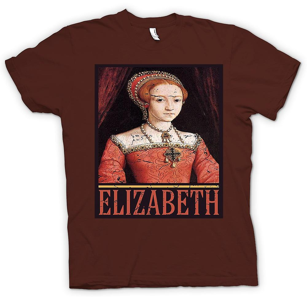 Mens T-shirt - Elizabeth 1 - Queen Of England