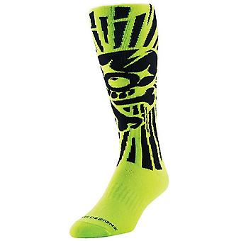 Troy Lee Designs Yellow Skully GP MX Socks