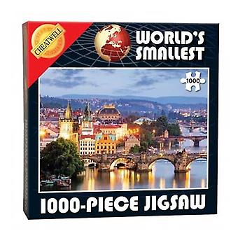World's Smallest 1000 Piece Jigsaw - Prague Bridges (1000 Pieces)