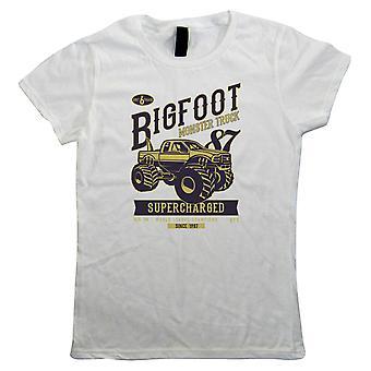 Big Foot monstertruck, kvinner T-skjorte