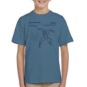 Marvel Black Panther Patent Pouncing Kid's T-Shirt