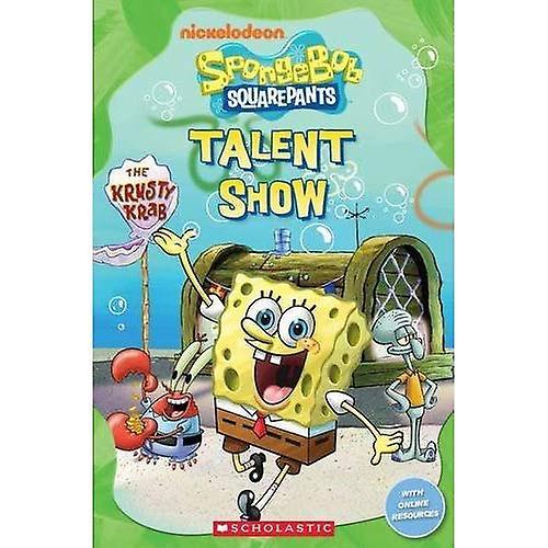 SpongeBob SquarePants: Talent Show at the Krusty Krab (Popcorn Readers)
