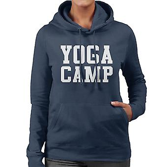 Yoga Camp Slogan Frauen die Kapuzen-Sweatshirt