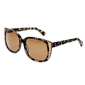 Bertha Natalia Polarized Sunglasses - Multi/Brown