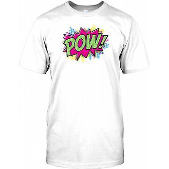 POW - Lichenstein Syle tegneserie - Herre T-shirt