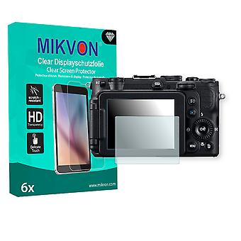 Nikon COOLPIX P7700 Screen Protector - Mikvon Clear (Retail Package with accessories)