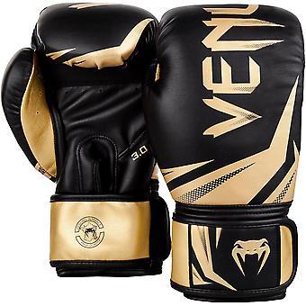 Venum Challenger 3.0 Training Boxing Gloves - Black/Gold