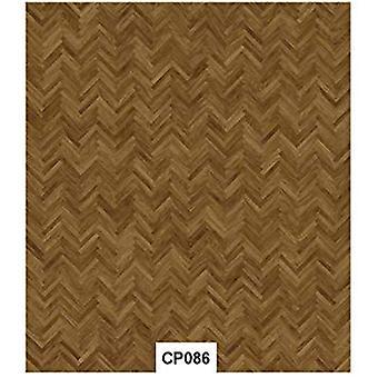 Craft konsortiet parkett golvet Decoupage papper (CCDECP086)