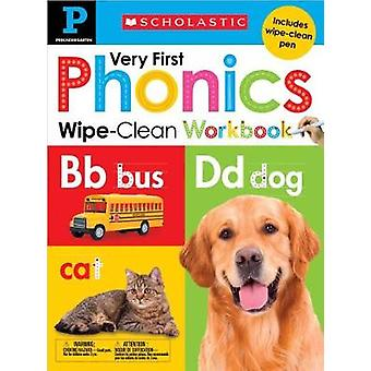 Wipe-Clean Workbook - Pre-K Very First Phonics (Scholastic Early Learn