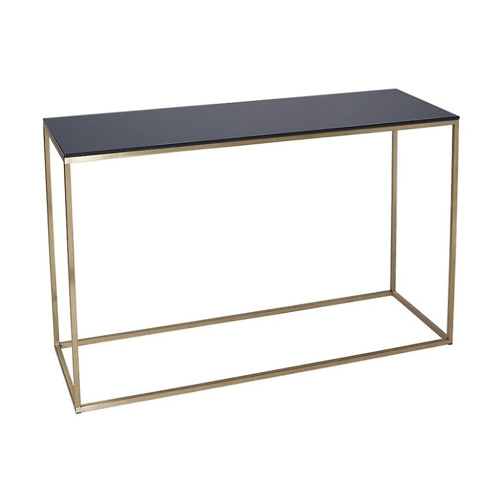 Gillmore Space noir Glass And or Metal Contemporary Console Table