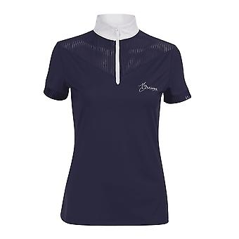 LeMieux Lemieux My Lemieux Adrina Womens Show Shirt - Bleu Marine