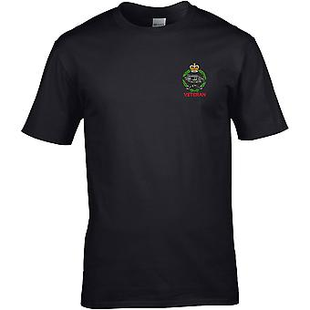 Royal Tank Regiment Veteran - Licenza British Army Ricamato Premium T-Shirt