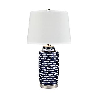 Blue azul baru table lamp stein world