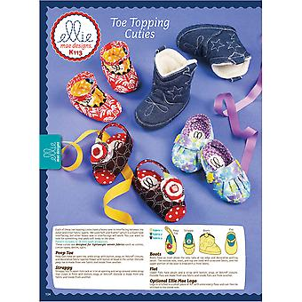 Toe Topping Cuties  All Sizes In One Envelope Pattern K0113