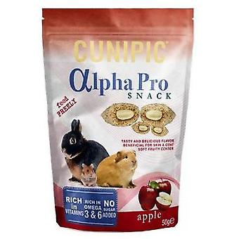 Cunipic Alpha Pro Apple Snack 50 g. (Small animals , Treats)