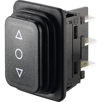 Toggle switch 250 Vac 14 A 2 x (On)/Off/(On) Marquardt 01939.3314-01 IP65 (front) momentary/0/momentary 1 pc(s)