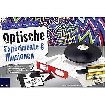 Vitenskap kit (set) Franzis Verlag Optische Experimente & Illusionen 978-3-645-65302-2-8 år og over