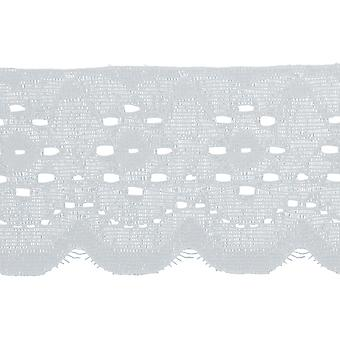Mock Eyelet Lace Trim 2-1/8