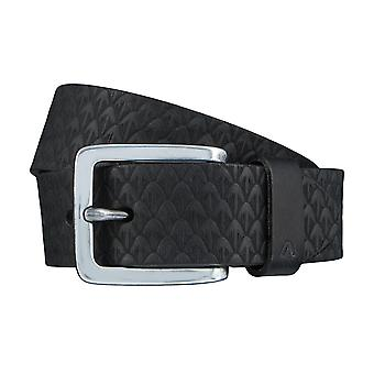 ALBERTO new pine belts men's belts leather belt black 3882