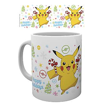 Pokemon święta Pikachu kubek