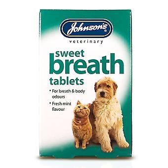 Jvp Dog & Cat Sweet Breath 30 Tablets (Pack of 6)