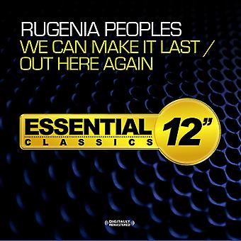 Rugenia Peoples - We Can Make It Last / Out Here Again USA import