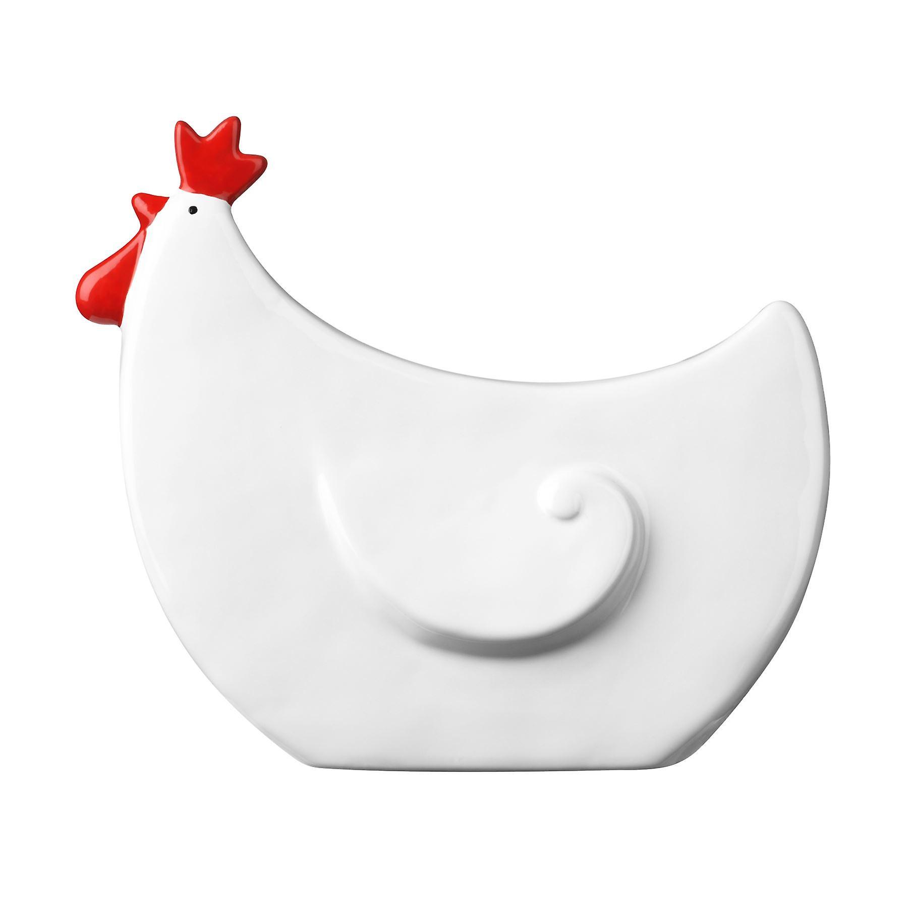 Premier Housewares Rooster Ceramic Ornament W22 x D8 x H19 cm
