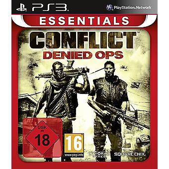 Conflict Denied OPS Essentials Edition PS3 Game
