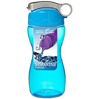Sistema timeglas Drink flaske 475ml, blå