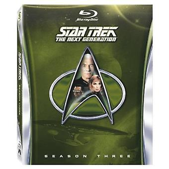 Star Trek Next Generation - Star Trek nueva generación: importación de USA de la temporada 3 [BLU-RAY]