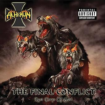 Acheron - Final Conflict: Last Days of God [CD] USA import