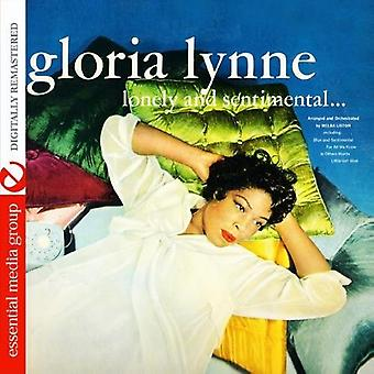 Gloria Lynne - import USA samotny Sentimentala & [CD]