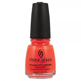 China Glaze China Glaze Nail polacco arancione Knockout 14ml