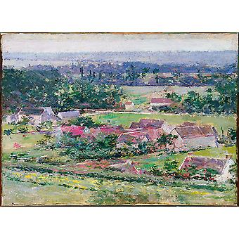 Theodore Robinson Giverny Poster Print Giclee