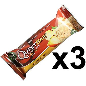 Quest Nutrition Apple Pie Protein Bar Individual 3 x 60g Bars