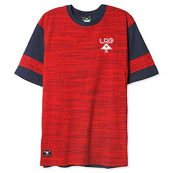 Lrg Play Off Knit T-shirt Red