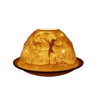 Light-Glow Dome Tealight Holder, Night Fairies