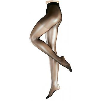 Falke osynliga Deluxe 8 Denier Ultra Transparent Matt Tights - svart