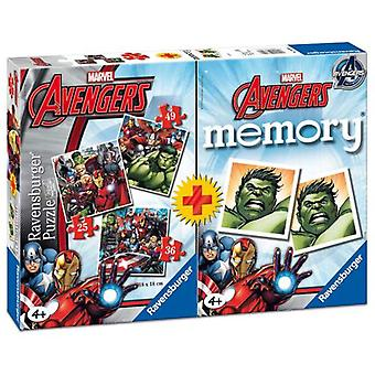 Ravensburger Multipack Memory With 3 Puzzles Avengers (Toys , Boardgames , Puzzles)