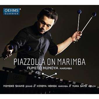 Piazzolla / Nunoya / Honda / Evas - Piazzolla på Marimba [CD] USA import