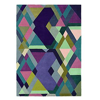 Mosiac Light Purple Geometric Rugs - Ted Baker 57605