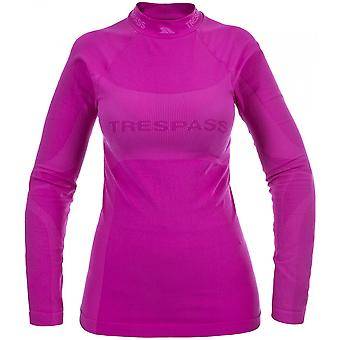 Trespass Womens/Ladies Endeavor Long Sleeve Baselayer Top