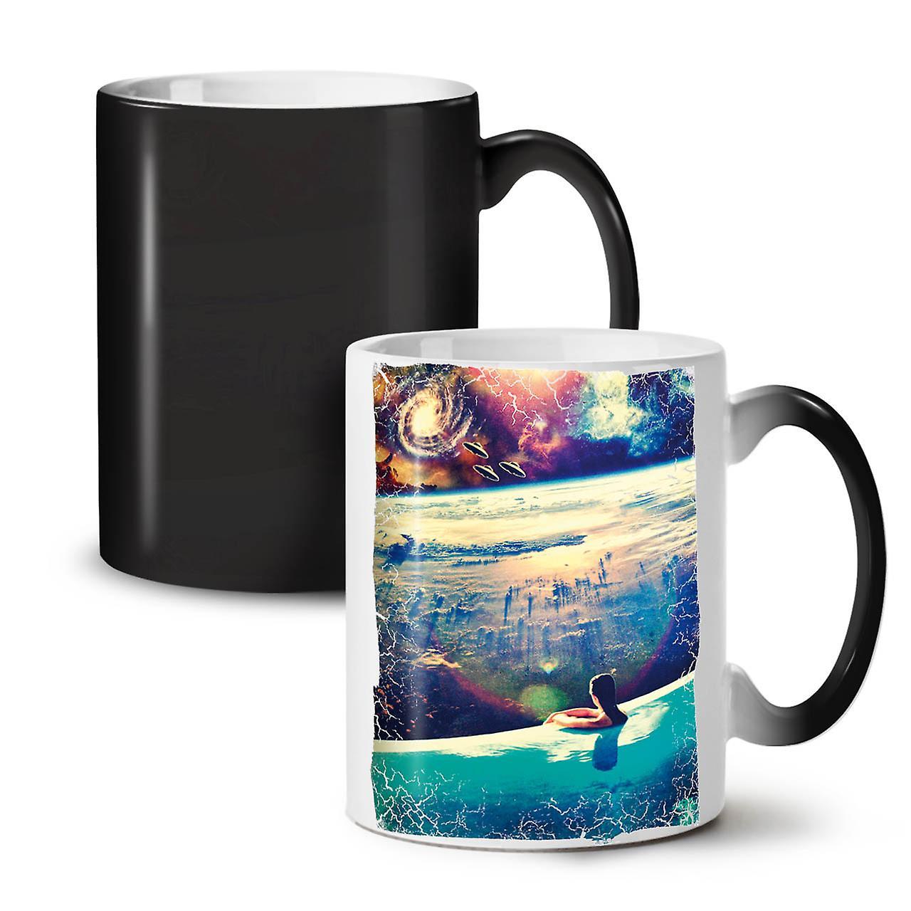 Coffee Black Changing Mug Ceramic Relax OzWellcoda New Mars 11 Tea Colour Invasion Y76mbvyIfg