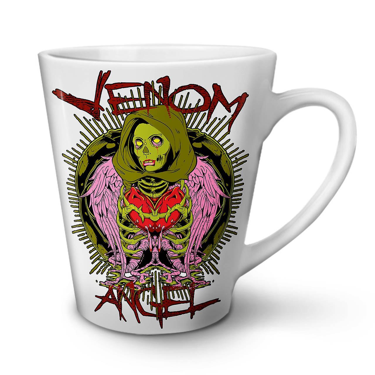 Heart Café Venin Latte Nouveau Angel OzWellcoda Thé 12 Mug En Blanc Céramique vw0nNm8