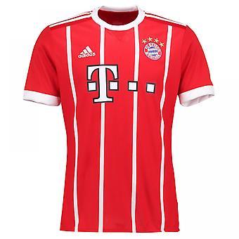 2017-2018 Bayern Munich Adidas Home Football Shirt